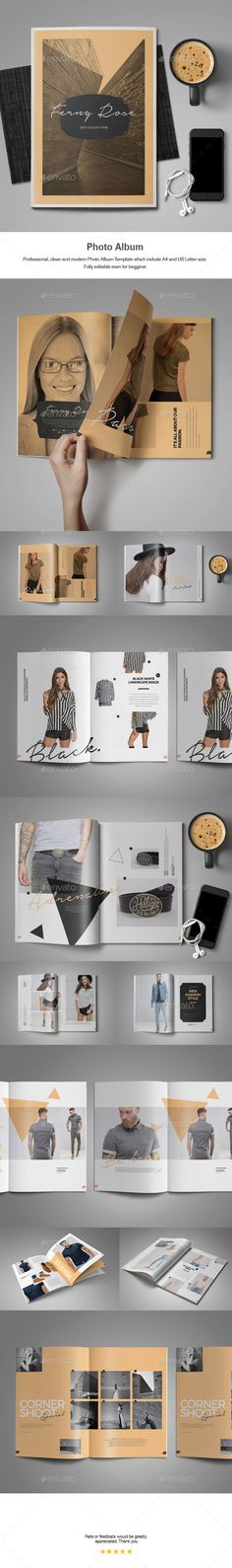 Multipurpose Landscape Photo Album Vol.II | Indesign templates ...