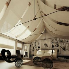 Tent room. There is something about this I like