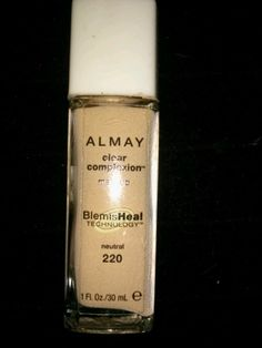 Almay Clear Complexion Foundation in neutral #220 #Almay