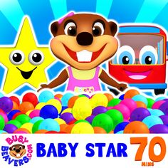 """Check out our New Video """"Baby Star""""  It's Packed with Busy Beavers' Best Videos for Kids to Learn Colors, Shapes & Much More! http://bit.ly/Baby-Star"""
