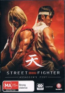 STREET FIGHTER ASSASSIN'S FIST MOVIE EDITION 暗殺拳  Audio: Japanese&English Subtitle: English Number of Disc: 2  Ship to worldwide
