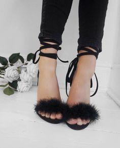 Favourite shoes #heels #black #jeans #goodamerica