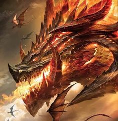 Beautiful pictures of dragons Dragon art and drawings Mythical Creatures Art, Mythological Creatures, Fantasy Creatures, Dark Fantasy Art, Fantasy Artwork, Big Dragon, Dragon Rpg, Mythical Dragons, Monster Concept Art