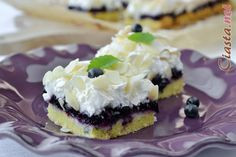 przepis na ciasto kruche z jagodami i bezą Cheesecake, Cooking Recipes, Sweets, Food, Kuchen, Gummi Candy, Cheesecakes, Chef Recipes, Candy