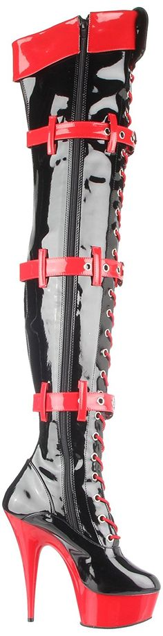 Amazon.com: Funtasma by Pleaser Women's Medic Knee-High Boot: Shoes
