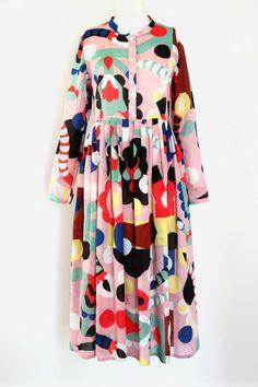 Sonnhild Kestler-clothes Quirky Fashion, Minimal Fashion, Colorful Fashion, Modest Fashion, Look Fashion, Fashion Dresses, Stylish Dress Book, Stylish Dresses, Hippie Style