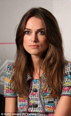 I love Her ! http://www.dailymail.co.uk/tvshowbiz/article-2748540/Keira-Knightley-wears-colourful-logo-mini-dress-TIFF.html