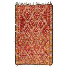 Vintage Moroccan Wool Rug @abccarpet #wherecreativitylives #abcCarpet