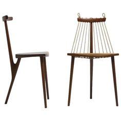 Brazilian Three-Legged Chair by Ricardo Graham, Brazil 1