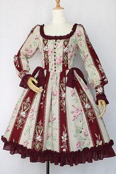 マジェスティックローズドールドレス Victorian maiden