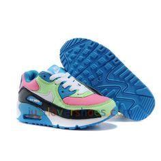 Zapatillas Nike Verdes Y Rosas