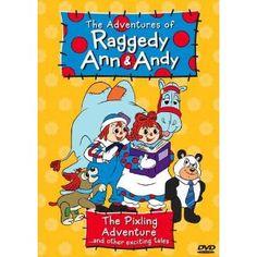 raggedy ann DVD