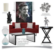 """""""Leia"""" by dianefantasy ❤ liked on Polyvore featuring interior, interiors, interior design, home, home decor, interior decorating, Nordstrom Rack, Palecek, Zodax and SONOMA Goods for Life"""