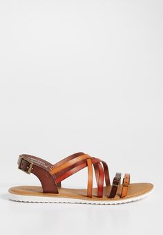 Aili faux leather strappy sandal (original price, $29.00) available at #Maurices