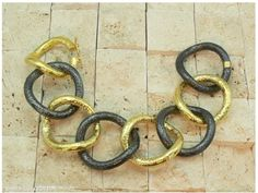 â™› ARA Collection - 24 K gold bracelet 24k Gold Jewelry, Jewelery, Best Diamond, Diamond Bracelets, Chains, Collection, Jewlery, Jewels, Jewerly