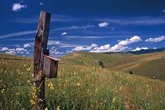 Outside Missoula, Montana