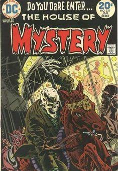 House of Mystery - Bernie Wrightson art & cover Marvel Comics, Creepy Comics, Ec Comics, Horror Comics, Horror Art, Crime Comics, Marvel Dc, Comic Books For Sale, Vintage Comic Books