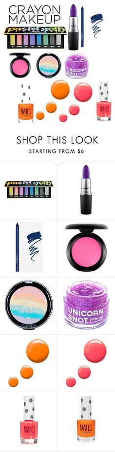"""""""Untitled #215"""" by babyelite on Polyvore featuring beauty, Kat Von D, MAC Cosmetics, FCTRY and Topshop"""