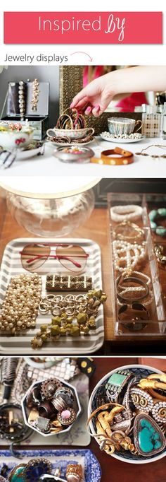 Acrylic tray jewlery