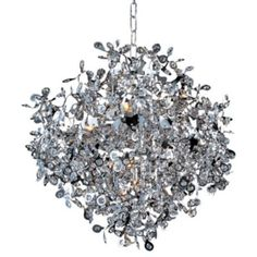 Dining Room Fixture (can see great room fan and kiitchen light from here) Comet Pendant by Maxim Lighting