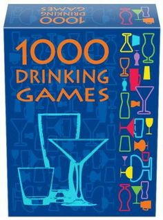 1000 Drinking Games - 1000 Drinking Games combines rounds of classic and new drinking games with off-the-wall plot twists and a variety of drink assignments. This set includes all of the popular drinking concepts: dice games, card games, word games, tongue twisters, spinner games, categories, ranking-based games, etc. Players can enjoy their favorite games over and over or learn a new game each time they play!