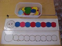 La chenille des couleurs - My Pin Infant Activities, Preschool Activities, Chenille, Toddler Learning, Preschool Kindergarten, Pre School, Kids And Parenting, Crafts For Kids, Education