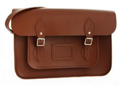 'Evelyn' Traditional Satchel from Tom Brown's Satchels Oxford £70