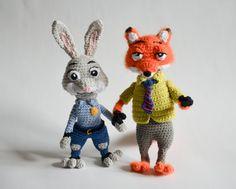 Crochet PATTERN Judy Hopps de Lambs / Zootropolis lapin par Krawka