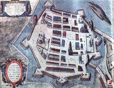 Znalezione obrazy dla zapytania stare mapy zamościa