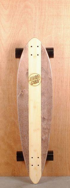 """Santa Cruz Prebuilt 38"""" Cali Cruzer Pintail Longboard Top"""