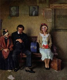 Norman Rockwell by Hollywood Dreams