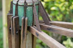 Antique Outdoors Folding Drying Rack Stand Alone by Vintassentials, $75.00