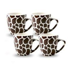 Animal Print Coffee Mugs