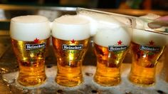 Heineken used the idea of 'refreshment' for the first time in British beer advertising (Credit: Credit: Getty Images)