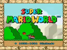 Super Mario World Intro (SNes)