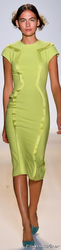 Green sleeveless summer dress. #women #fashion outfit #clothing style apparel @roressclothes closet ideas