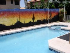 Mural Magic Outdoor Murals ...... wish my view of my neighbors fence looked like this. :>)