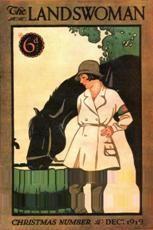 Kathleen Hale's cover for The Landswoman, December 1919. Courtesy of The Women's Library, London Metropolitan University
