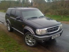 Lifted Ford Explorer, Modified Cars, Eddie Bauer, 4x4, Trucks, History, Awesome, Vehicles, Cars