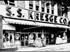 S.S. Kresge New London Connecticut, Curiosity Shop, Old And New, Buildings, Bedding, Memories, City, Memoirs, Souvenirs