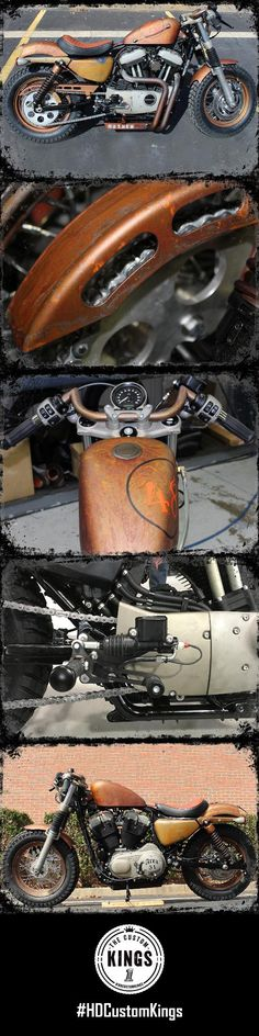 """Harley-Davidson of Dothan's build, """"Project Mayhem"""", was built with knobby tires and raised suspension to handle whatever comes its way. 