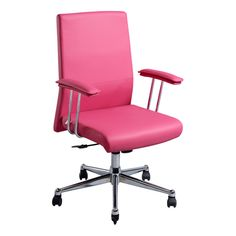 Arosa Executive Chair Pink $179.00 at officeworks. Lighter pink in real life