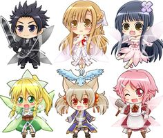 Mini Alfheim Anime SAO by SnowGirl Pinterest