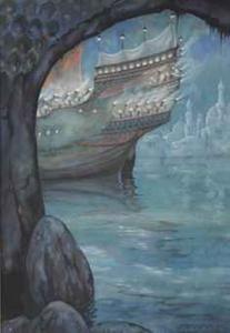 From 1001 Arabian nights; the story of The strange Khalif van Pieck, Anton