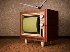 The My First TV ('60s Edition) is available at http://powerpig.storenvy.com