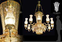 Swarovski, Decorative Lighting, Led, Light Decorations, Luster, Vases, Glass Vase, It Cast, Chandelier