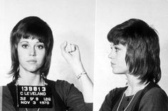 Jane Fonda was arrested on November 3, 1970 in a Cleveland, Ohio, airport for kicking a police officer and smuggling drugs. Fonda, however, insists that she was targeted by the Nixon White House for her progressive and anti-war political views. After all, she was only carrying vitamins!