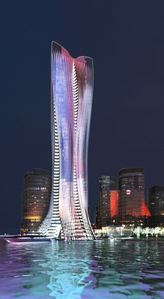 Michael Schumacher World Champion Tower Abu Dhabi by Chris Bosse and Tobias Wallisser, LAVA Architects