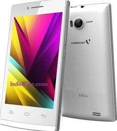 Videocon infinium X40 Pro Features, Specs, Release Date and Price