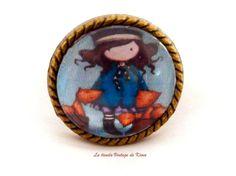 Anillo muñeca Gorjuss REF.10 de La Tienda Vintage de Kima por DaWanda.com